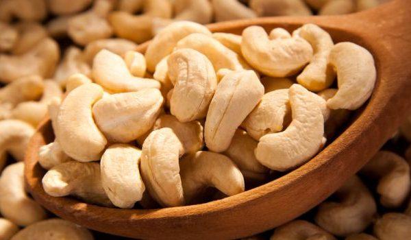Chew on them: Cashew nuts