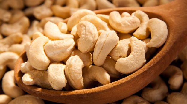 Chew on them: Cashew nuts