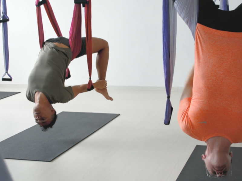4 reasons to get an upside down workout